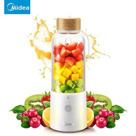 美的MIDEA 料理机鲜榨果汁机食品级材质可榨汁搅拌LZ15Easy209果汁机340ML