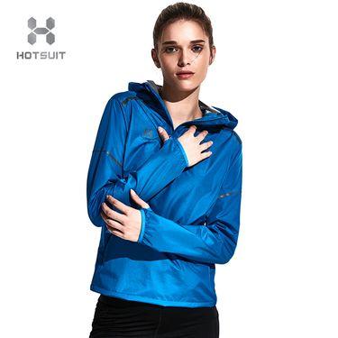 HOTSUIT 美国后秀发汗服女上衣爆汗服运动服跑步健身暴汗服排汗衣6690000