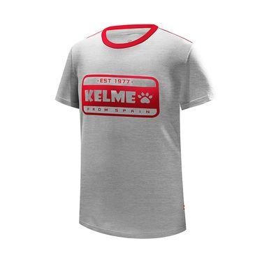 卡尔美 kelme夏季新款儿童T恤男女训练运动上衣透气快干圆领跑步3883028
