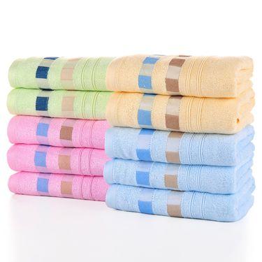 竹之锦 全棉毛巾   4条装    8822