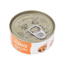 獐子岛 扇贝罐头100g 大连特产 海鲜熟食 虾夷扇贝肉