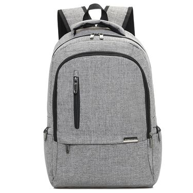 形象派 简约双肩包USB充电商务电脑背包男女学生书包休闲旅行包外贸  3110