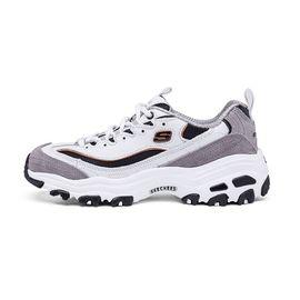 斯凯奇 Skechers女鞋熊猫鞋D'lites时尚潮流运动鞋休闲鞋99999746