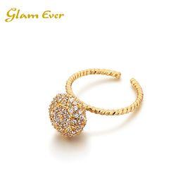 Glam Ever 李晔同款 Simply Ring   单颗钻戒指  洲际速买