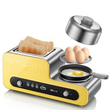 小熊 ZDQ-D05B5家用多功能早餐机煎烤烙吐司机煎蛋器烤煎蛋