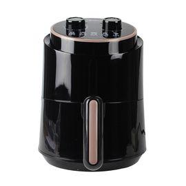 美的MIDEA 空气炸锅 1.5L 家用多功能无油煎炸锅 大容量薯条机多功能 MF-TN1501 黑色