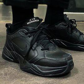 耐克 NIKE男鞋 新款AIR MONARCH IV复古老爹鞋训练减震跑步鞋415445-001