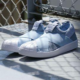 阿迪达斯 女鞋三叶草板鞋 SUPERSTAR贝壳头运动休闲鞋 BB2121