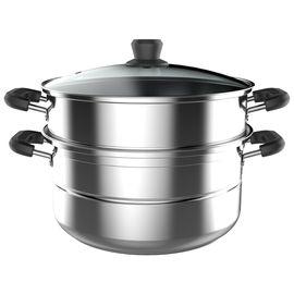 美的MIDEA  蒸锅 二层 不锈钢锅 26CM复底锅 ZG26Z01