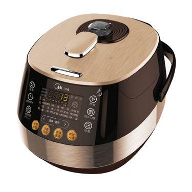 美的MIDEA  电压力锅PSS5050P 浓香钢胆 中途加菜可预约 5L双胆智能