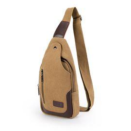 AMRY GEAR  瑞士军刀 休闲帆布骑行背包 时尚胸包 便携户外运动单肩包 AG-3004