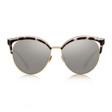 暴龙 眼镜女偏光太阳镜 安妮海瑟薇明星款猫眼墨镜 经典蛤蟆镜 BL6029