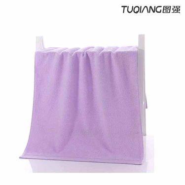 TUQIANG 图强 棉花糖提缎浴巾60*120cm一条装(4色可选)