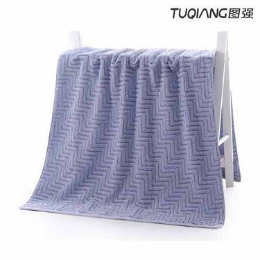 TUQIANG 图强 阶梯浴巾70*135cm一条装(2色可选)