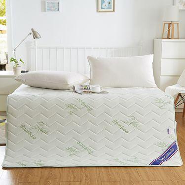 艾桐 竹纤维透气薄床垫 慢回弹床褥子