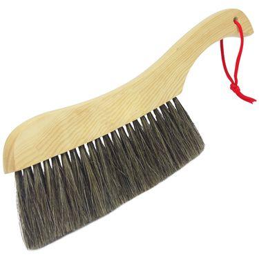 洁比世 木质大号天然鬃毛床刷 桌面扫把除尘刷清洁刷 6028