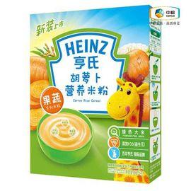 亨氏 Heinz亨氏 胡萝卜营养米粉225g 辅食初期-36个月