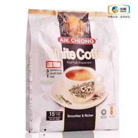 中粮 【爆款】益昌三合一白咖啡减少糖600g(马来西亚进口 袋)