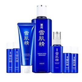 SEKKISEI/雪肌精 基础保养超值组(化妆水360毫升+乳液140毫升+洗面奶130克+中样4件套)