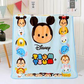 DISNEY 迪士尼婴儿毛毯春夏季宝宝抱毯新生儿童小孩毯子柔软云毯