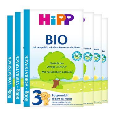 Hipp/喜宝  有机奶粉 3段(适合18-24个月)600g 德国进口 100%纯天然及有机的保证 CST购