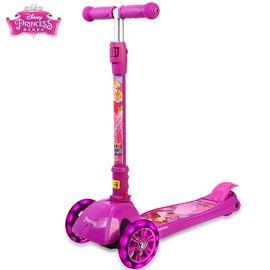 DISNEY  迪士尼儿童滑板车三轮3岁6岁宝宝踏板车男女小孩玩具滑滑车