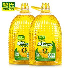 融氏 鲜胚玉米油 5L*2桶【新鲜胚芽物理压榨、非转基因】
