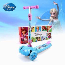 DISNEY 迪士尼儿童滑板车四轮3岁6岁宝宝踏板车男女小孩玩具滑滑车