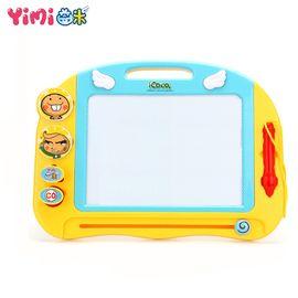 益米 多啦A梦画板213 彩色小孩幼儿磁性写字板画画  1-3岁玩具icoco画板