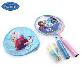 DISNEY 迪士尼儿童羽毛球拍双拍宝宝大圆球拍2支装训练拍3-12岁