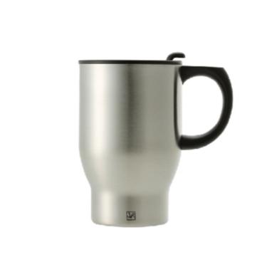 银酷  韩国原装进口保温杯汽车杯随手杯双层304不锈钢 390m