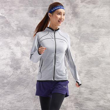 Makino/犸凯奴 运动修身 女士无缝运动外套 柔软贴身 M151612038