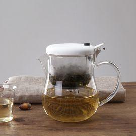 LIKUAI/利快 Macma日本进口大容量茶壶耐热玻璃茶具980ml花茶咖啡两用茶壶