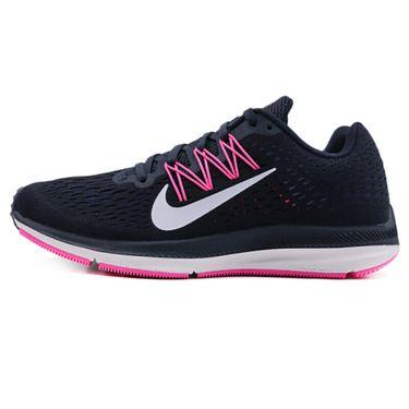 耐克 NIKE女鞋 秋季新款ZOOM WINFLO 5缓震网面透气休闲跑步鞋AA7414-401