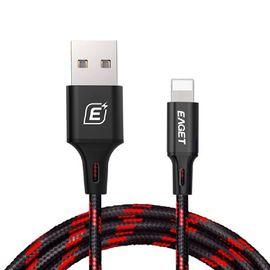 忆捷 EAGET EC002 苹果数据线iphone6/5s/6s/7plus数据线/ipad充电线 颜色随机发货