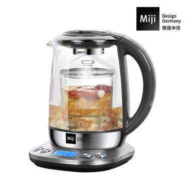 Miji 米技 微电脑多功能养生壶   HP-01 德国米技烧水壶 电热水壶玻璃养生壶家用电水壶煮茶壶1.7L煲汤养生壶
