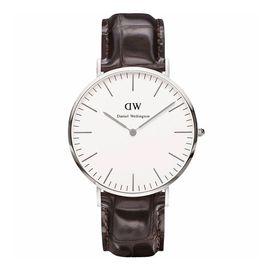 Daniel Wellington  YORK系列男士皮带手表 0211DW(DW00100025)瑞典进口 洋码头