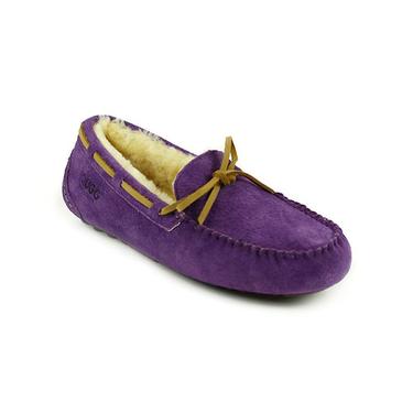 Ever UGG 11682羊皮毛一体素色软皮平底毛豆豆鞋女鞋 男女同款 澳洲进口 IVY