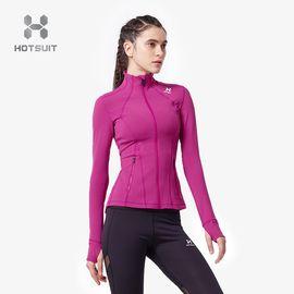 HOTSUIT 后秀开衫外套女2018秋季新款修身弹力透气时尚显瘦外套6853003