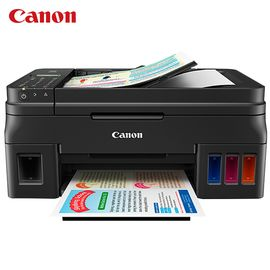 佳能 Canon G4810 加墨式 高容量 传真一体机 (打印/复印/扫描/传真)