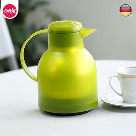LIKUAI/利快 Emsa德国进口Samba按压保温壶双层真空热水瓶玻璃内胆1L