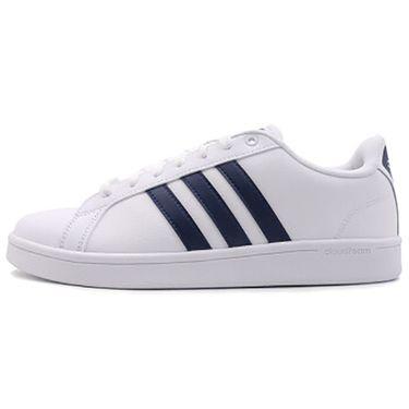 阿迪达斯 adidas neo CF ADVANTAGE男鞋新款运动鞋低帮舒适轻便休闲鞋板鞋B43648白蓝