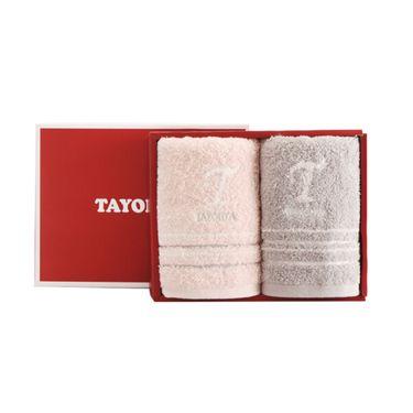 多样屋 TAYOHYA格子棉蓬松柔软护肤 一方一面 毛巾礼盒