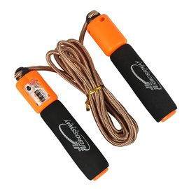 Crossway/克洛斯威 跳绳 尼龙绳纺织绳计数跳绳 可调节  TS-0710