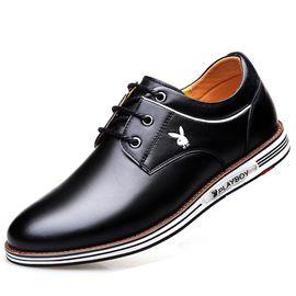 花花公子 皮鞋男商务男鞋休闲鞋运动板鞋潮流百搭鞋