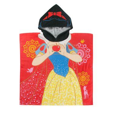 DISNEY 迪士尼儿童连带帽浴巾 抖音宝宝纯棉纱布斗篷沙滩巾披风浴袍 米奇