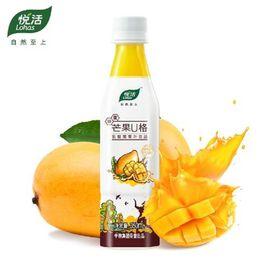 中粮 悦活芒果U格乳酸菌果汁350mL