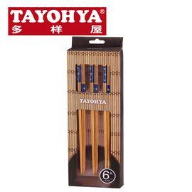 多样屋 炭化贴花筷筷子