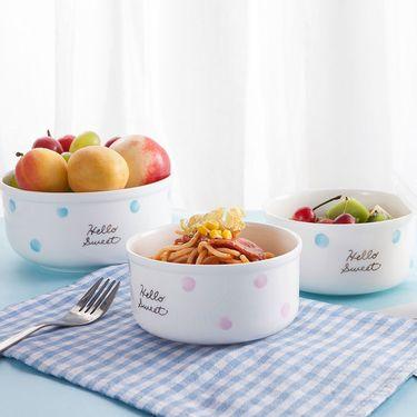 丽芙 骨瓷保鲜碗(2只装)