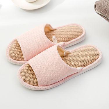 Doppio 家居棉麻拖鞋 多款组合任意搭配 鞋码可选 /DP-501/DP-A169/DP-T003